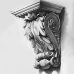 Acanthus-Bracket-Pencil final - Drawing class Level II