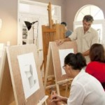 Adult drawing class at Renaissance School of Art