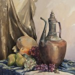 Oriental still life watercolor final
