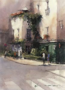 Paint ALong with Vladislav Yeliseyev - watercolor online class