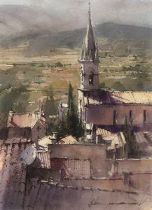 Paint Along with Vladislav Yeliseyev -  Bonniaux, Provence